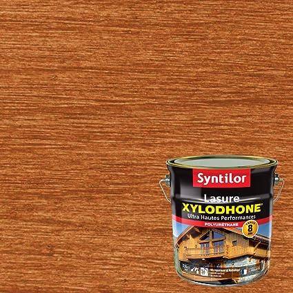 syntilor lasure xylodhone ultra hautes performances 8 ans chene dore satine 2 5l