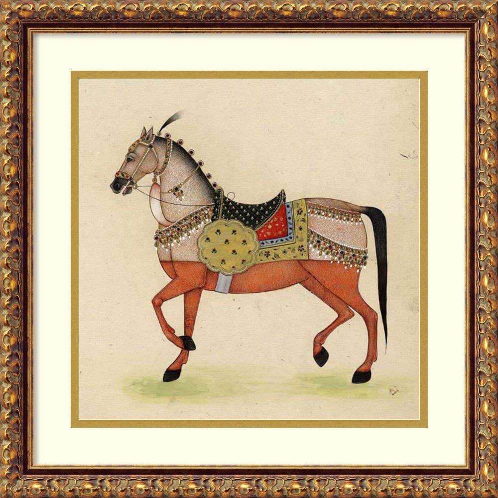 Framed Art Print 'Horse from India I' by Illuminations