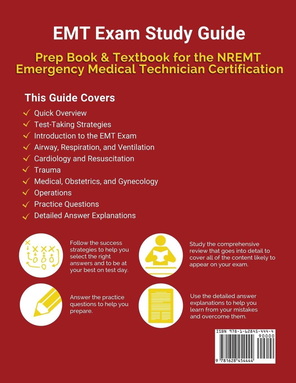 Buy Emt Exam Study Guide Prep Book Textbook For The Nremt