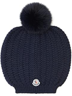 bf6be176fd5 Moncler Men s Blue Red Striped Pom Pom Hat at Amazon Women s ...