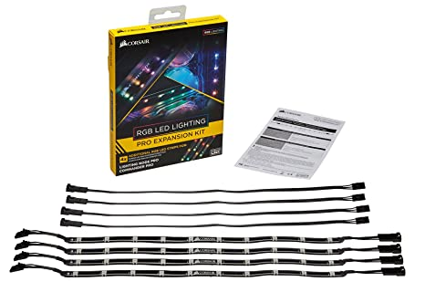 CORSAIR CL-8930002 RGB LED Lighting PRO Expansion Kit  sc 1 st  Amazon.com & Amazon.com: CORSAIR CL-8930002 RGB LED Lighting PRO Expansion Kit ...