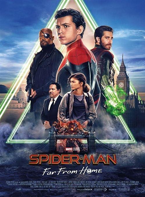 Affiche du Film Spider Man Far from Home - Póster de Cine ...