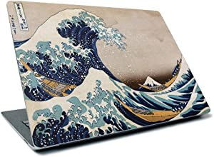 "MightySkins Skin for Microsoft Surface Laptop 3 13.5"" (2019) - Great Wave of Kanagawa 