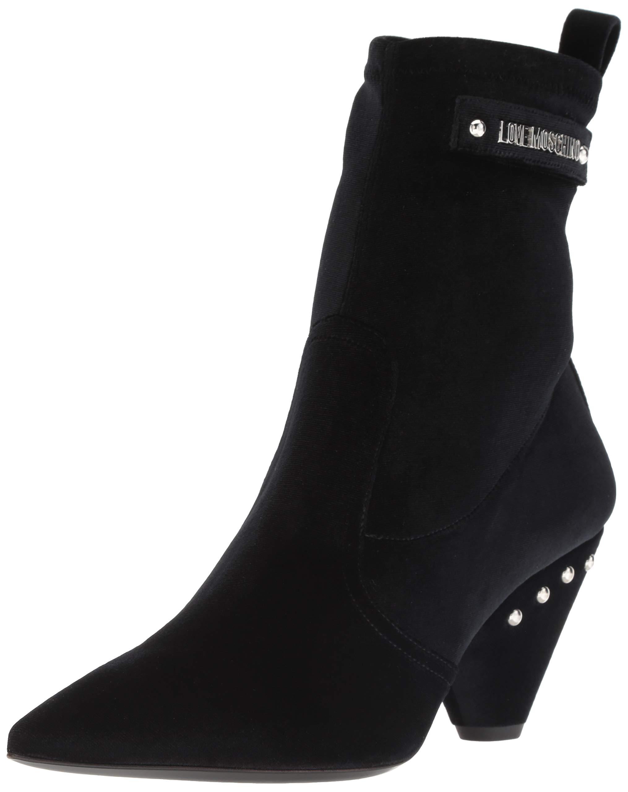 Love Moschino Women's JA21077C06JG100A Uniform Dress Shoe Black 41 Regular EU (11 US)