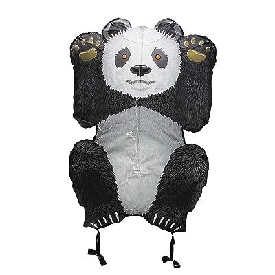 "WindNSun Skyzoo Polyester Ripstop Panda Kite, 40"" Tall: Toys & Games"