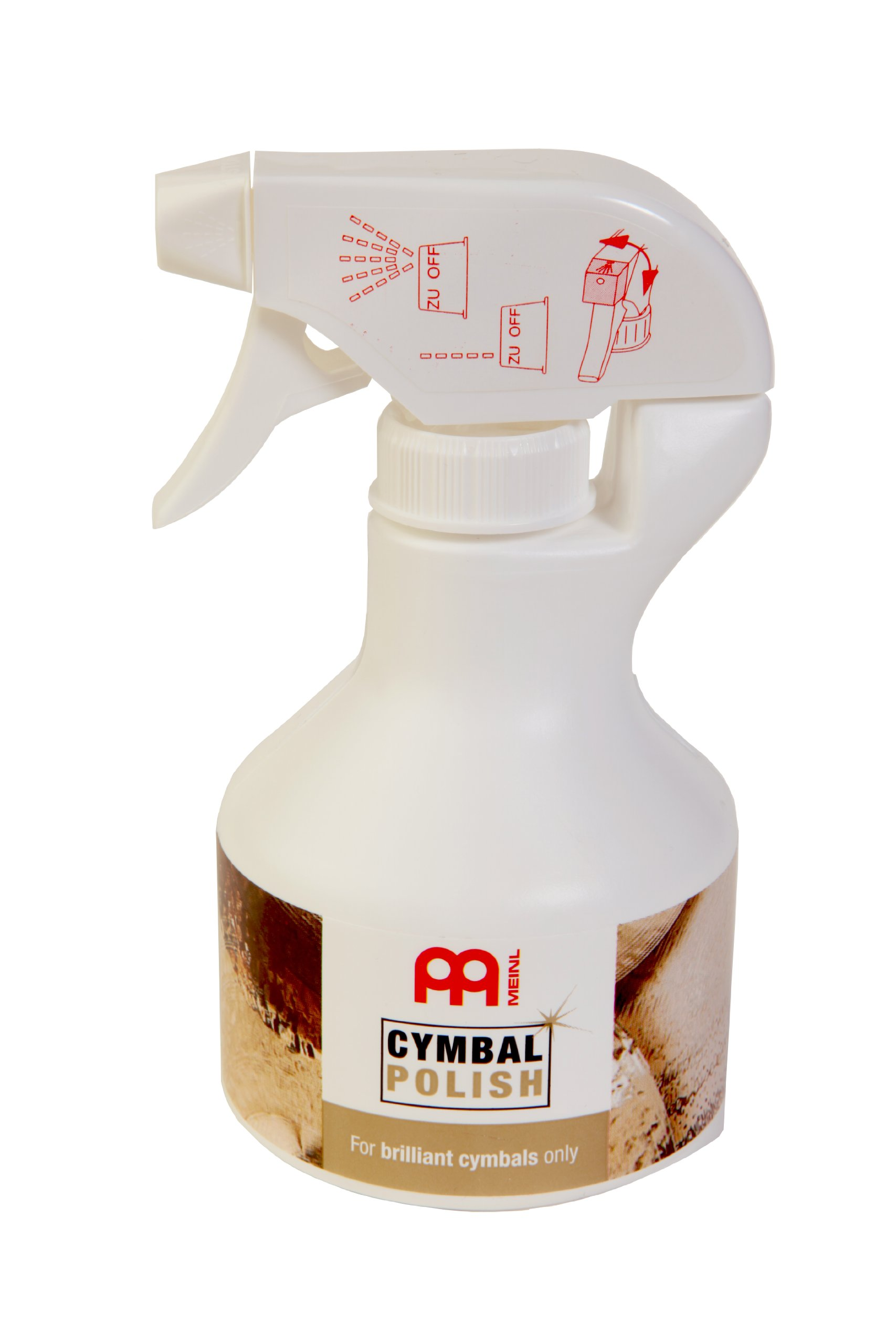 Meinl Cymbals MCP Cymbal Polish For Brilliant Cymbals