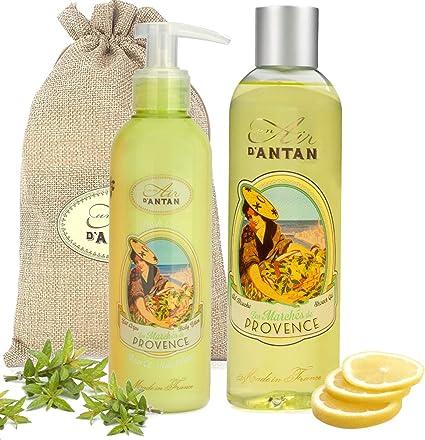 Un Air dAntan® Caja Belleza Provence Mujer,1 Gel de Ducha 250ml ...