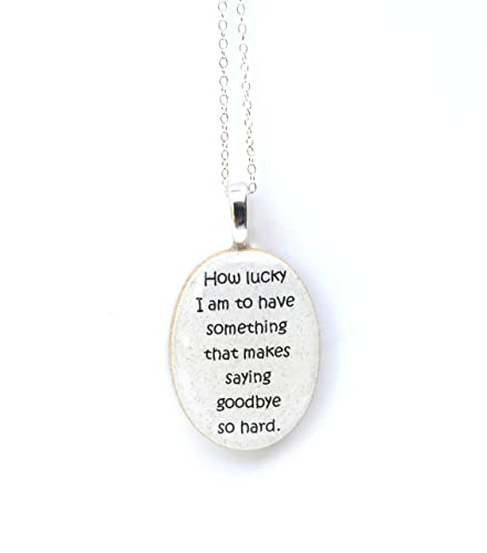 Amazoncom Best Friend Necklace Quote Necklace Going Away Gift