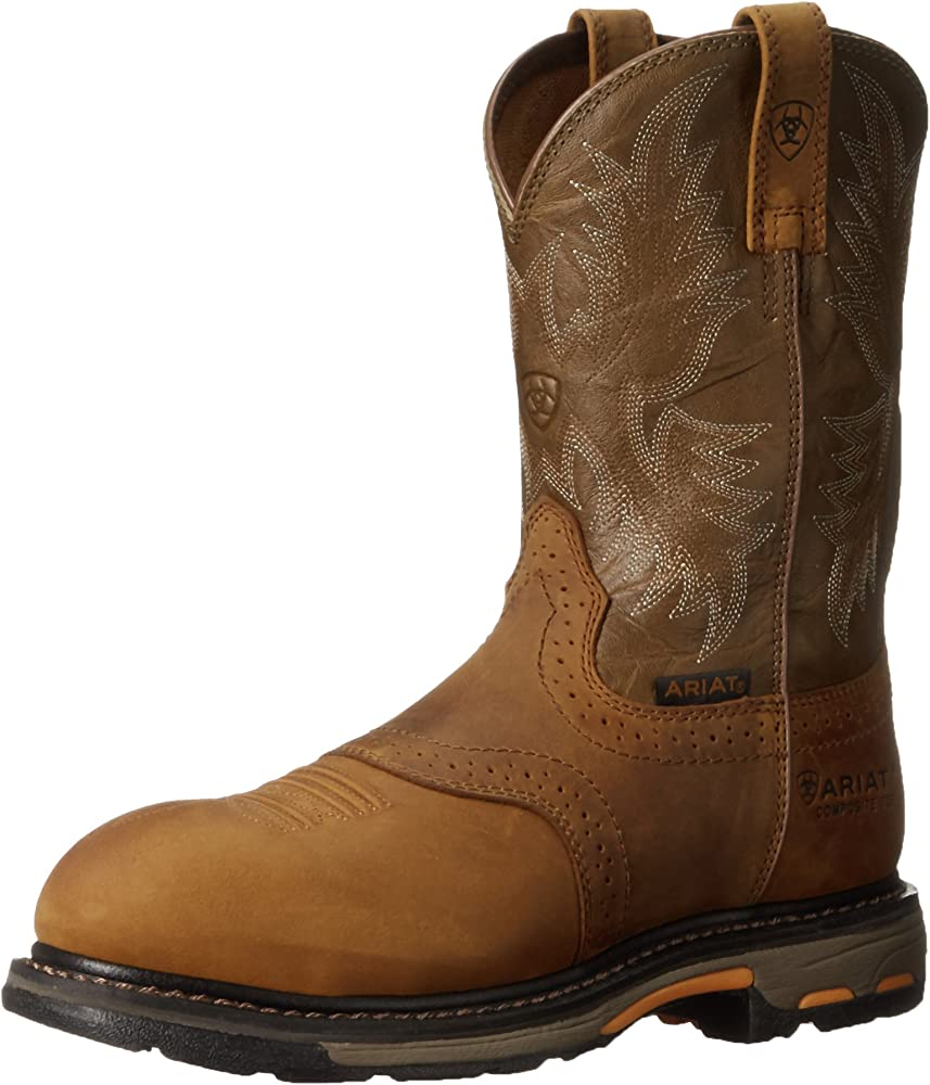 Workhog Pull-on Composite Toe Work Boot