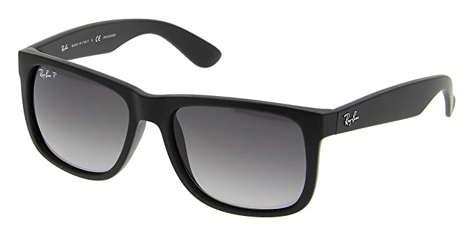 2d3c63e5095 ... shopping ray ban justin black polarized sunglasses rb 4165 622 t3 55mm  sd glasses 9def7 18449