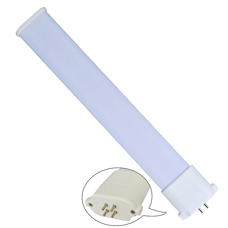 【300セット(1850円/本)FPL32EX形 コンパクト蛍光ランプ  FPL型LED FPL代替LEDコンパクト蛍光灯 パラライト コンパクト蛍光灯 】 LED18w 18W消費電力 2340lm 50000h GY10q兼用口金 防虫 LEDランプ護眼タイプLED照明 騒音なし輻射なしチラツキが感じさせません ライト LEDコンパクト形蛍光灯 2年保证【昼光色6000k】 (300セット(1850円/本)) B073TSDCPM
