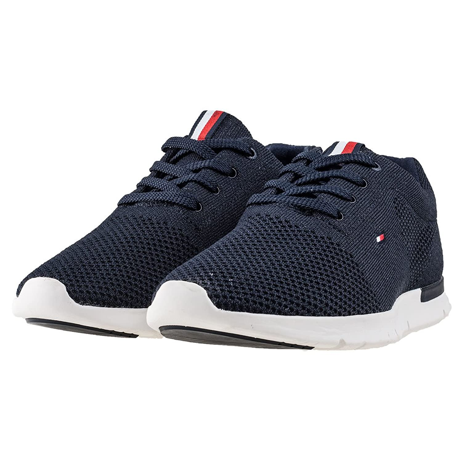 Tommy Hilfiger Hombres Midnight T2285OBIAS 10D Zapatillas-UK 7