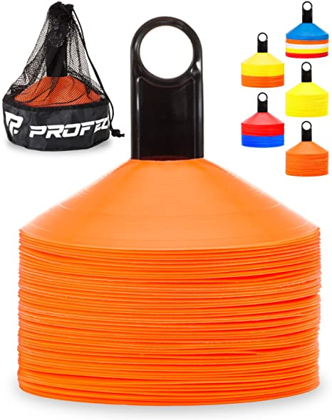 Agility Cones Disc Set of 50 - For Soccer Players