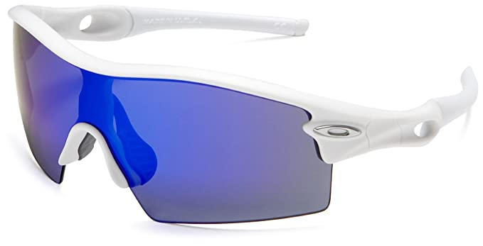 oakley blue and white sunglasses  Amazon.com: Oakley Men\u0027s Radar XL Blades Iridium Sunglasses,Matte ...