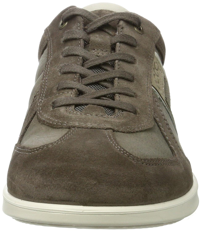 Ecco Indianapolis, Zapatos de Cordones Derby para Hombre, Marrón (Cocoa Brown/COFFEE55738), 45 EU