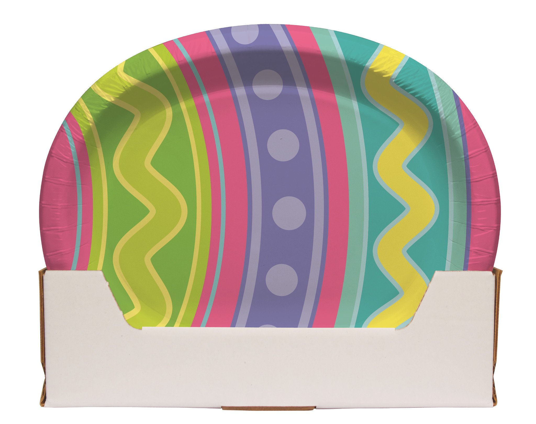 Eggcellent Oval Banquet Plates by Creative Converting