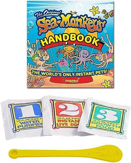 Amazon Com Sea Monkey S Original Instant Life Toy Toys Games
