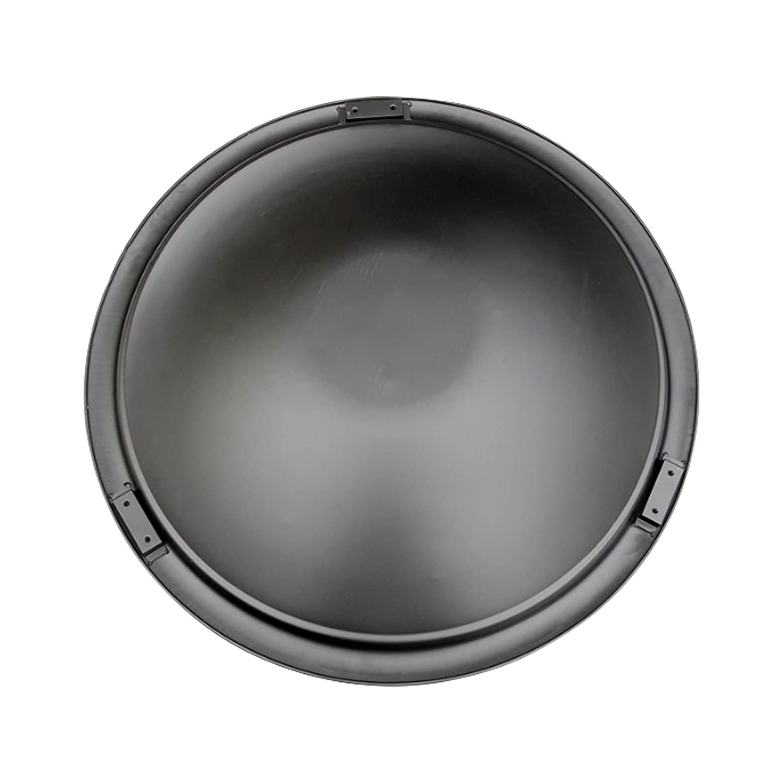 Sun Joe SJFP30-D 29.5-Inch Universal Replacement Fire Pit Bowl w/Leg Support Brackets, Black