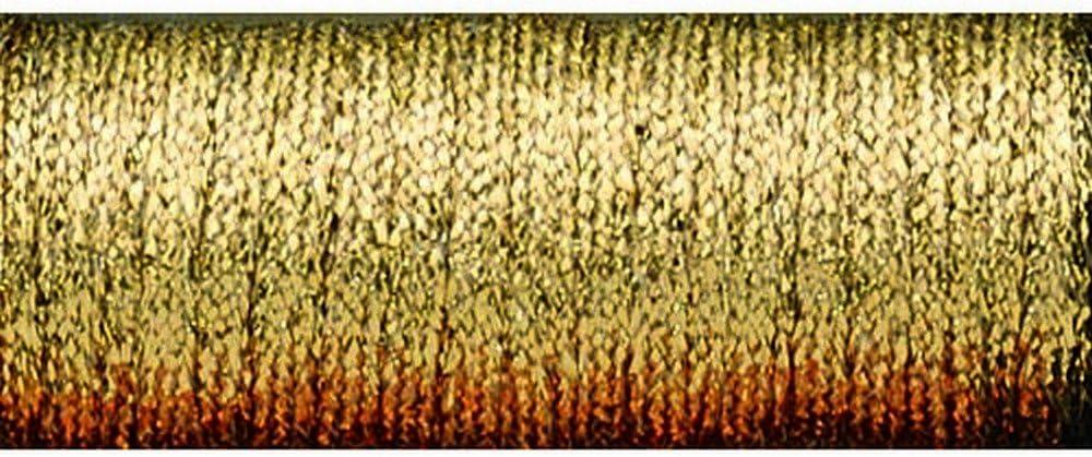 Kreinik No.16 10m Metallic Braid Trim Antique Gold Medium