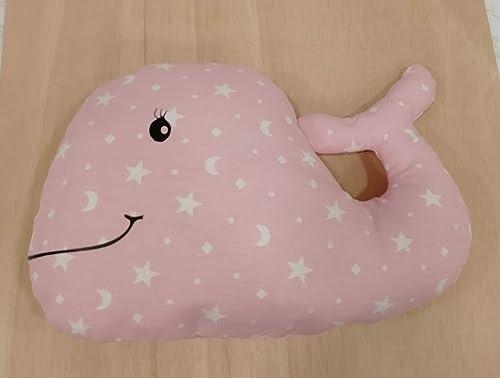 Cojín ballena personalizado para bebé con su nombre: Amazon ...