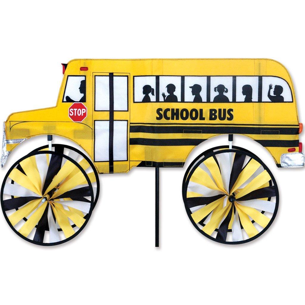 Premier Kites Accent Spinner - School Bus