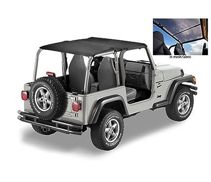 Bikini long Header version safari black diamond Jeep Wrangler TJ couleur