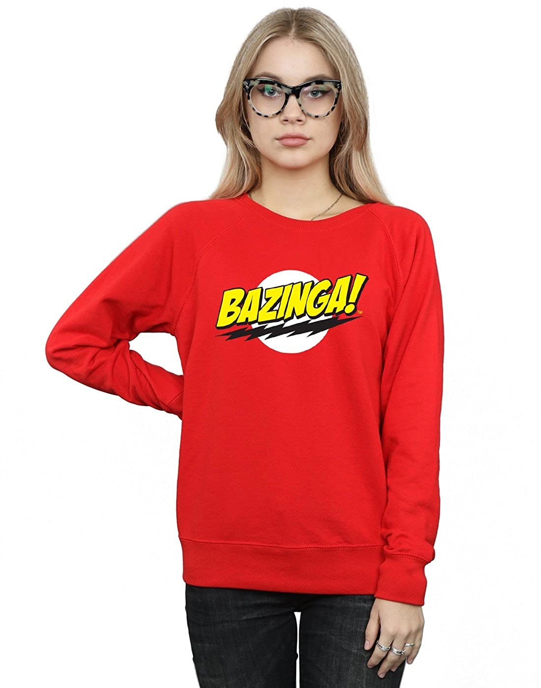 The Big Bang Theory Mujer Sheldon Bazinga Camisa De Entrenamiento