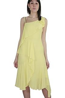 3591909372f077 KAOS Women s Sleeveless Dress Pink Fantasia Floreale  Amazon.co.uk ...