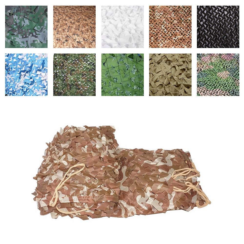56M Filet de camouflage armée, Tissu Oxford de Tente de Filet de Camo de Filet de Filet D'ombre, Approprié à La Chasse de DéguiseHommest de Peau Tirant Le Grand Jardin Noir Convient pour l'extérieur