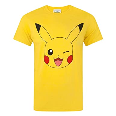 e84550b1 Pokemon Pikachu Men's T-Shirt (XXL): Amazon.co.uk: Clothing