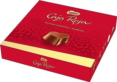 NESTLÉ CAJA ROJA Bombones de Chocolate - Estuche de bombones 100 g: NESTLE: Amazon.es: Alimentación y bebidas