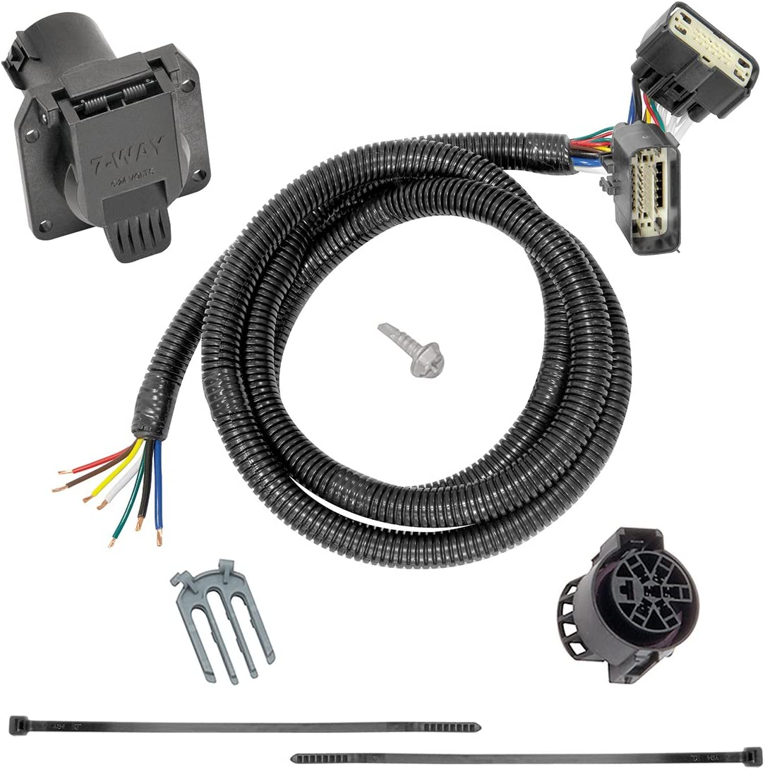 Amazon Com Tekonsha 118283 7 Way Tow Harness Wiring Package 1 Pack Automotive