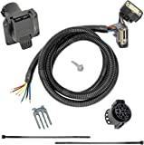 amazon com tekonsha 118243 7 way tow harness wiring package automotive