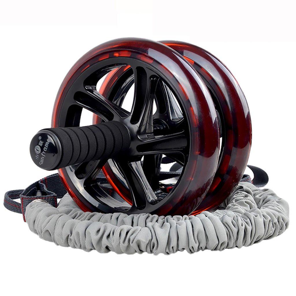 Big seller AB Roller Bauch- / Sportrollen, Doppelrad mit Schaumstoffgriff, extra Knieschoner AB Rollenübung AB Roller Bauchtrainer