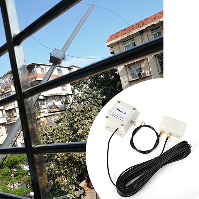 Antena de Recepción Activa, Antena de Bucle a Prueba Lluvia ...