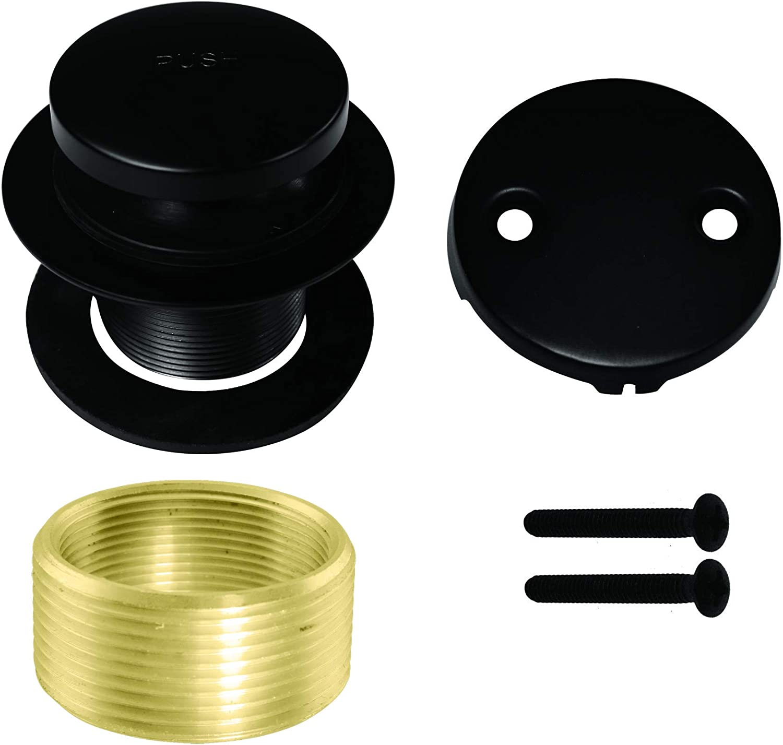 Matte Black UNOPENED Westbrass R93-2-62 Tip Toe Tub Trim Set