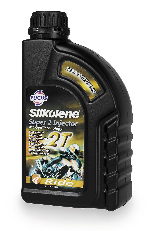 SILKOLENE Fuchs lubricantes 2T Super 2 inyector: Amazon.es ...