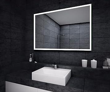 Designer LED Badspiegel Badezimmer Wand Spiegel IP20 IP22 Schutz ...