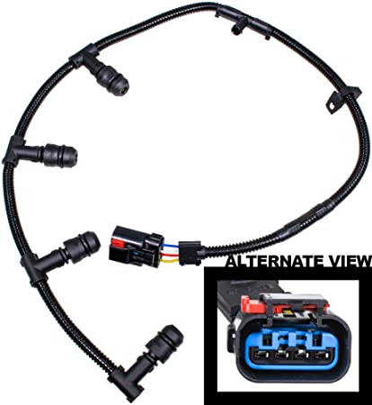 amazon com apdty 015564 glow plug wire wiring pigtail connectorapdty 015564 glow plug wire wiring pigtail connector harness fits right bank 2004 2010 ford