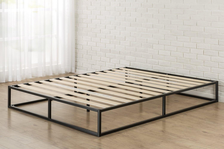 Zinus Somier Joseph Modern Studio 150x200x25cm, con plataforma Low Profile Bed Frame