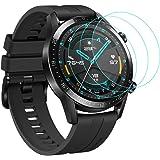 CAVN Protector de Pantalla Compatible con Huawei Watch GT2 46mm, 3 Unidades, Impermeable, a Prueba de Golpes, Ultra…