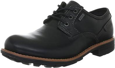 Clarks Midford Lo GTX Lace-Ups Mens, Black (black Waterproof), 46