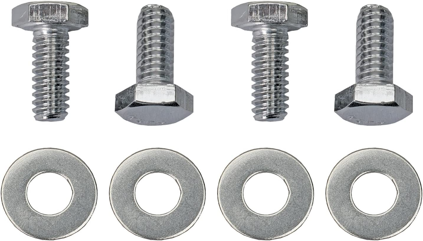 Trans-Dapt 9781 Chrome 3//4 Hex Head Valve Cover Bolt Set