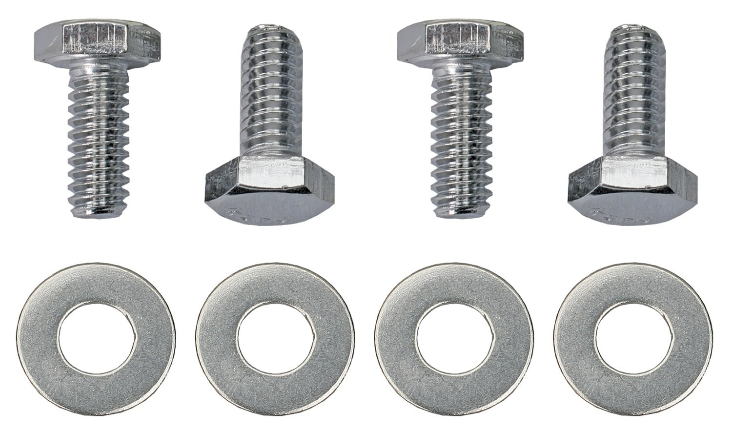 Trans-Dapt 9784 Chrome 3/4' Hex Head Valve Cover Bolt Set Trans-Dapt Performance