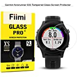 Fiimi LCD Tempered Glass Screen Protector For Garmin Forerunner 935,9 H Hardness,0.3mm Thickness,Made From Real Glass (Garmin Forerunner 935)