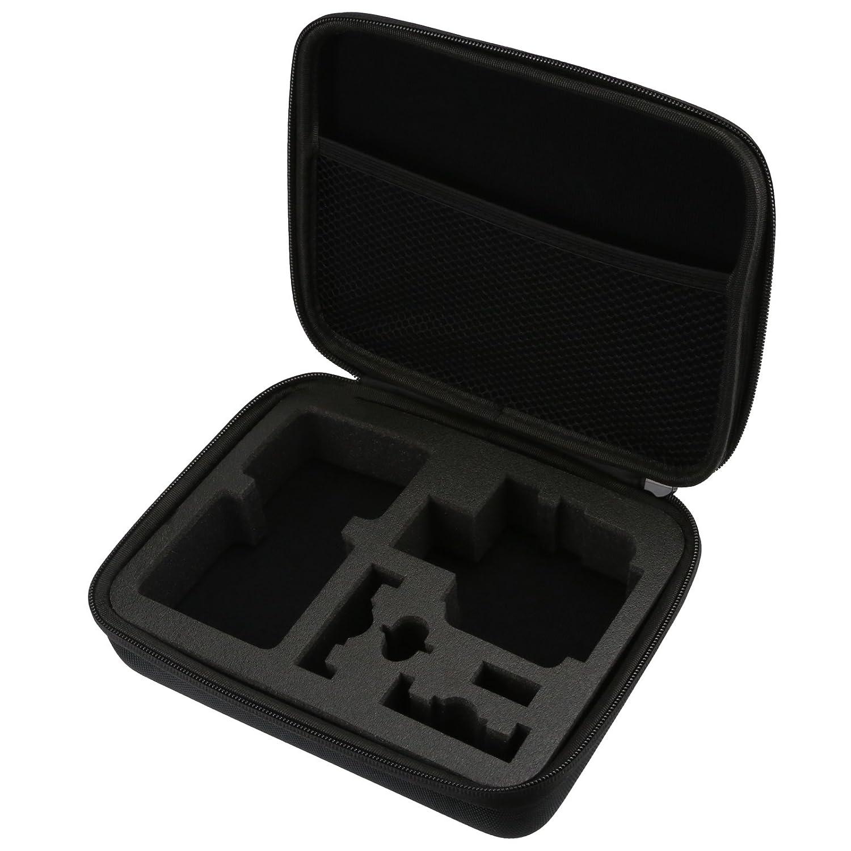 SHOOT Accessories Pack 45 en 1 Kit Selfie Bâ to, É tui de Transport pour GoPro Hero 7 Noir Argent Blanc/6/5/4/3+/3/Hero(2018)/Fusion Crosstour Campark Nouveau APEMAN WiMiUS TecTecTec YI 4K AKASO xtgp0118