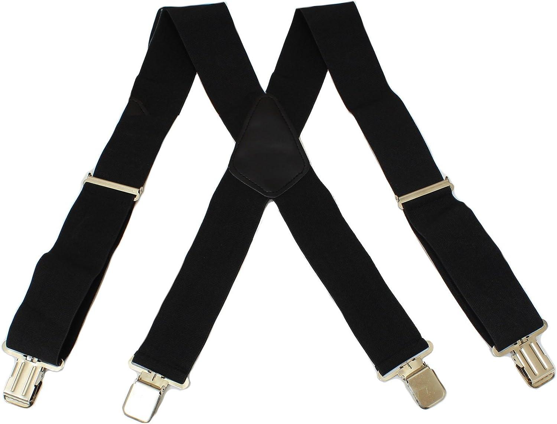 Pinces en M/étal Robuste Hardcastle Bretelles Robuste et Epais de 50mm pour Pantalon
