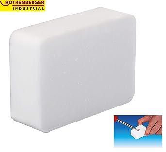 Rothenberger 035910E - Piedra de soldadura de amonio para limpiar herramientas de hierro