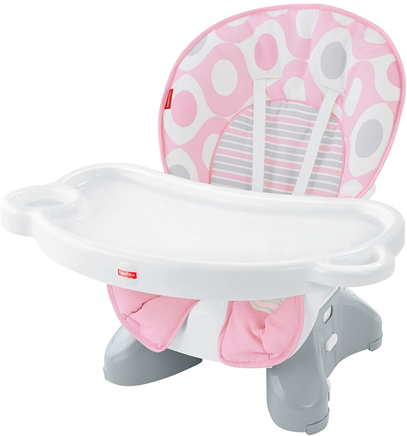 Fisher Price SpaceSaver High Chair Pink Ellipse Amazon Baby