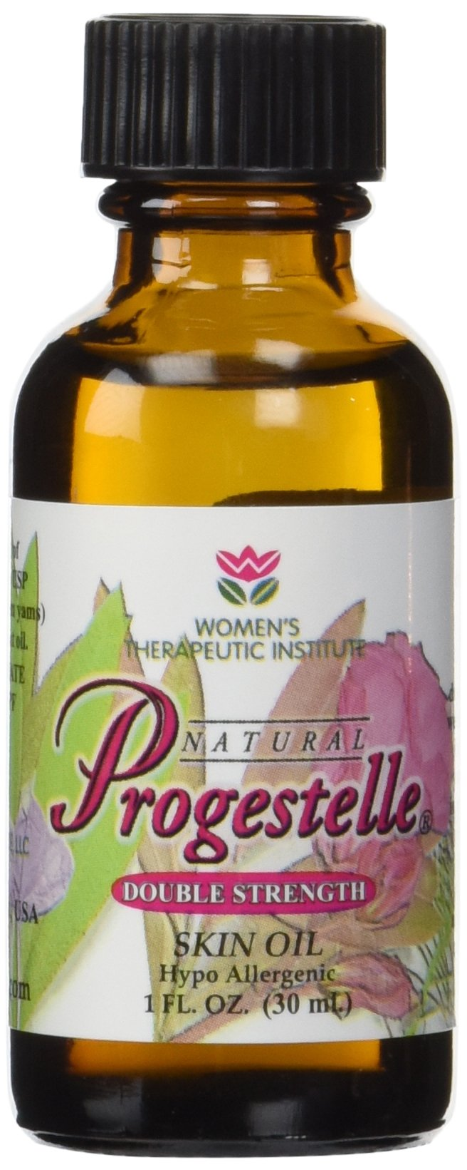 2 Bottles of Progestelle Progesterone Oil Purer Than Progesterone Cream, Bioidentical, Natural, Topical - NO Preservatives, NO Fragrance, NO Emulsifiers and Booklet- 1oz 800 mg/oz Double Strength